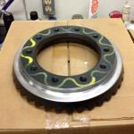 Lightened ring gear